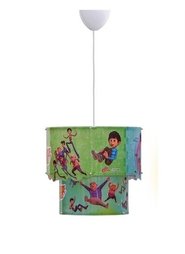 YKC YKC Çocuk Odası Rafadan Tayfa Sihirli Tavan Lambası-6105 Lisanslı Renkli